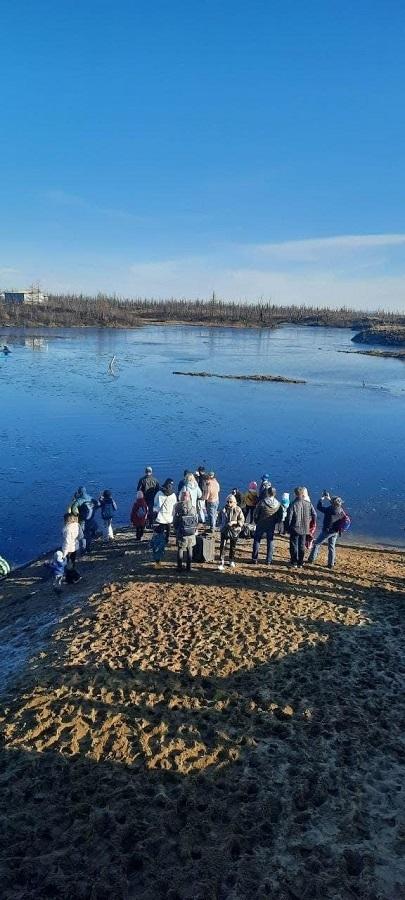 В минувшие выходные на лыжной базе «Оль-Гуль» официально открылась площадка «Акватория-Норильск»