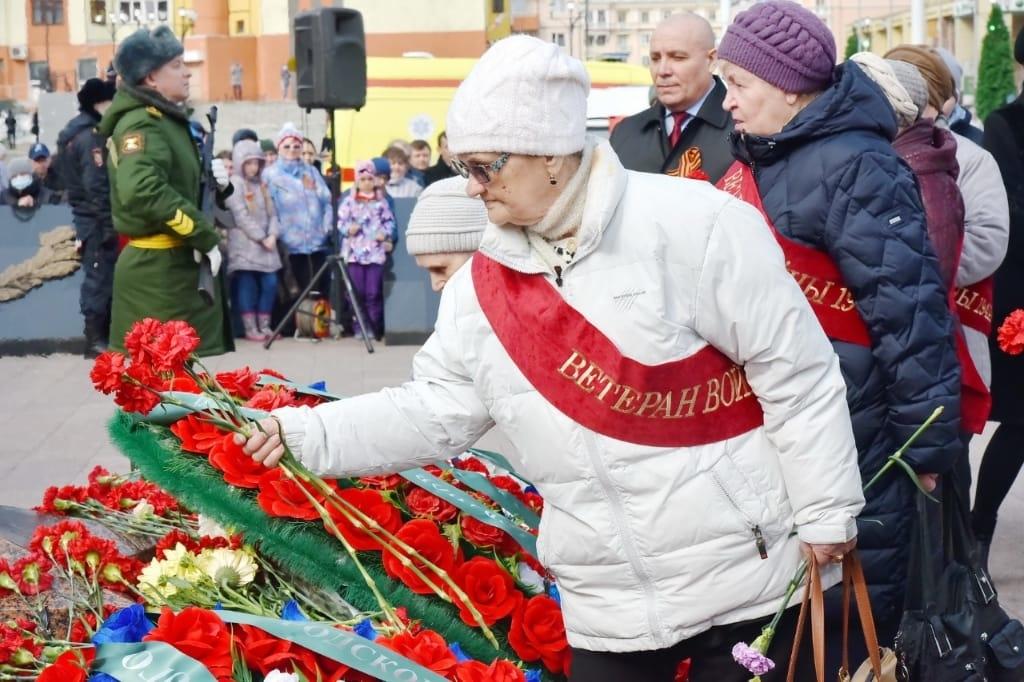 Сегодня в Норильске состоялась церемония возложения венков к Вечному огню в честь Победы в Великой Отечественной войне