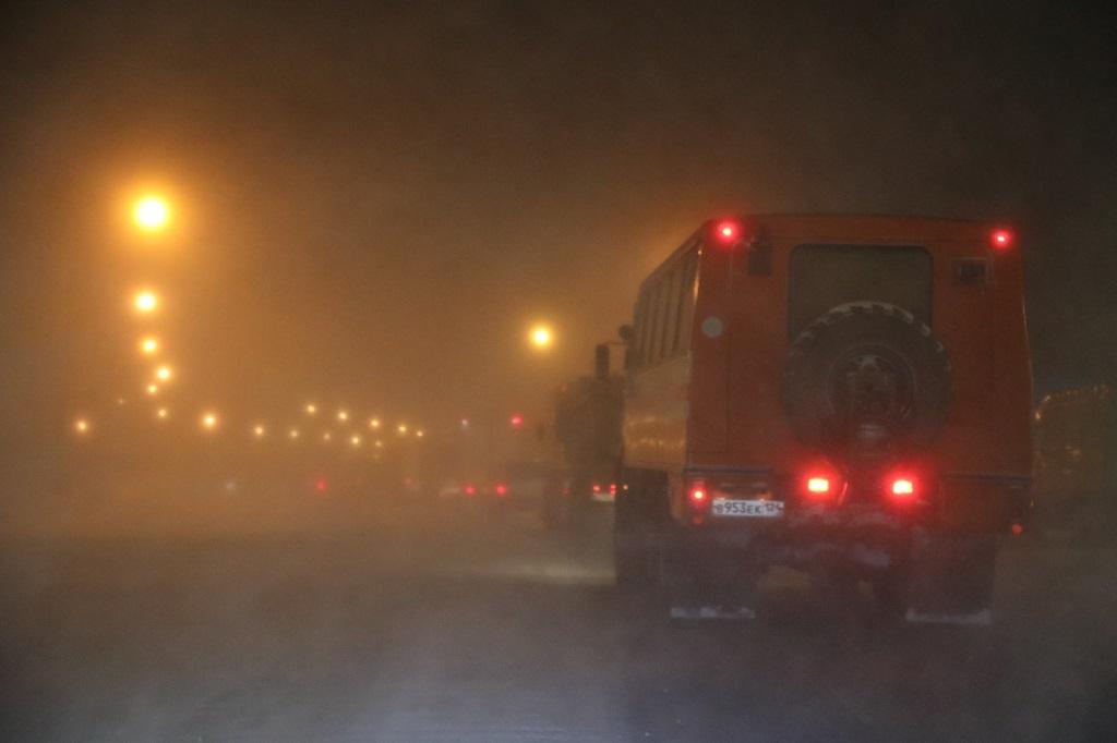 Закрытие по погоде трассы Норильск — Алыкель горожане могут переждать в ГЦК и КДЦ «Юбилейный»