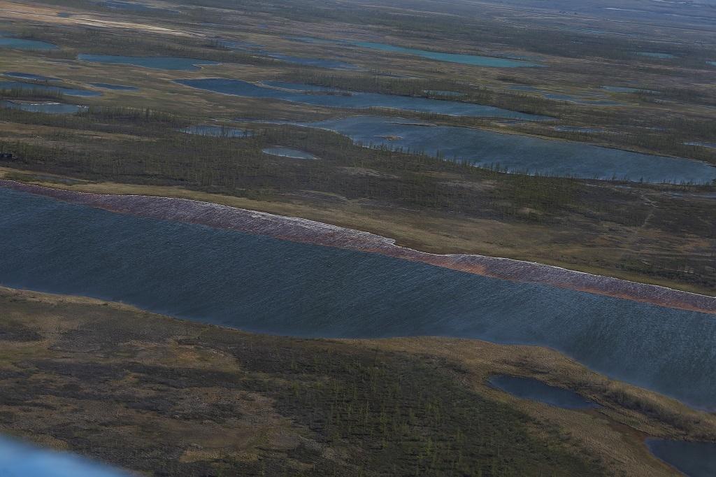 Часть компенсации за разлив топлива на ТЭЦ-3 поступит в Красноярский край
