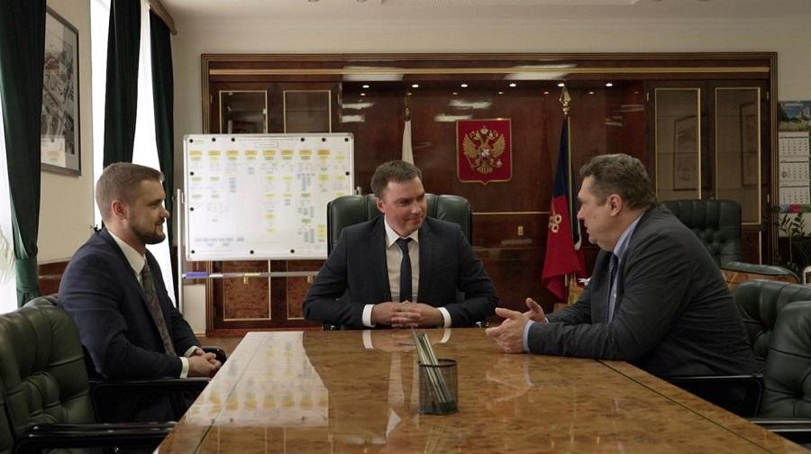 Дмитрий Карасев встретился с председателем Союза журналистов России Владимиром Соловьевым