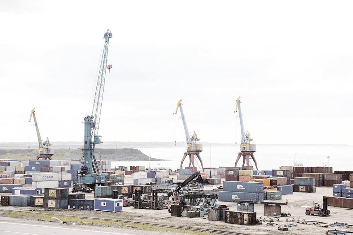 Енисейское речное пароходство доставляет грузы для Норильска