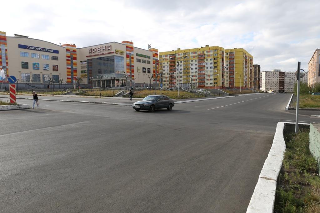 Ремонт дороги на перекрёстке Орджоникидзе и Котульского завершён. При этом впервые использован дренаж для водоотведения