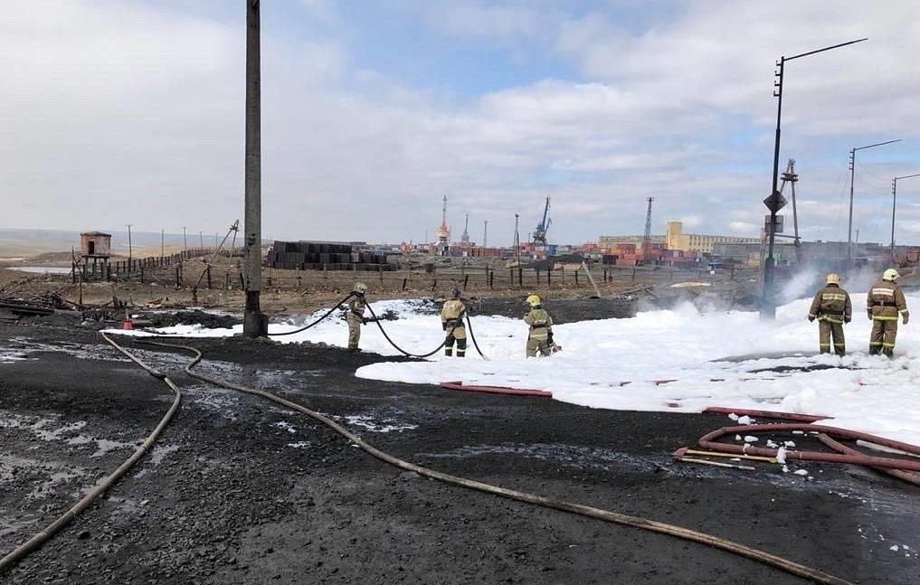 «НТЭК» ликвидирует последствия инцидента на резервуаре хранения дизельного топлива ТЭЦ-3