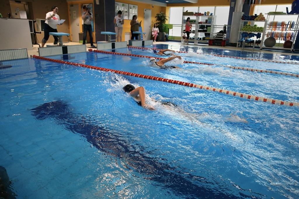 Подведены итоги отборочного заплыва в бассейне «X-Fit Север»