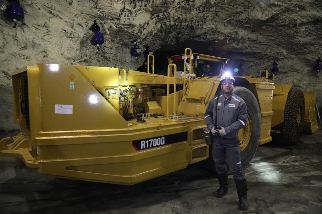 На руднике «Заполярный» ООО «Медвежий ручей» завершился ремонт камеры отстоя самоходного оборудования