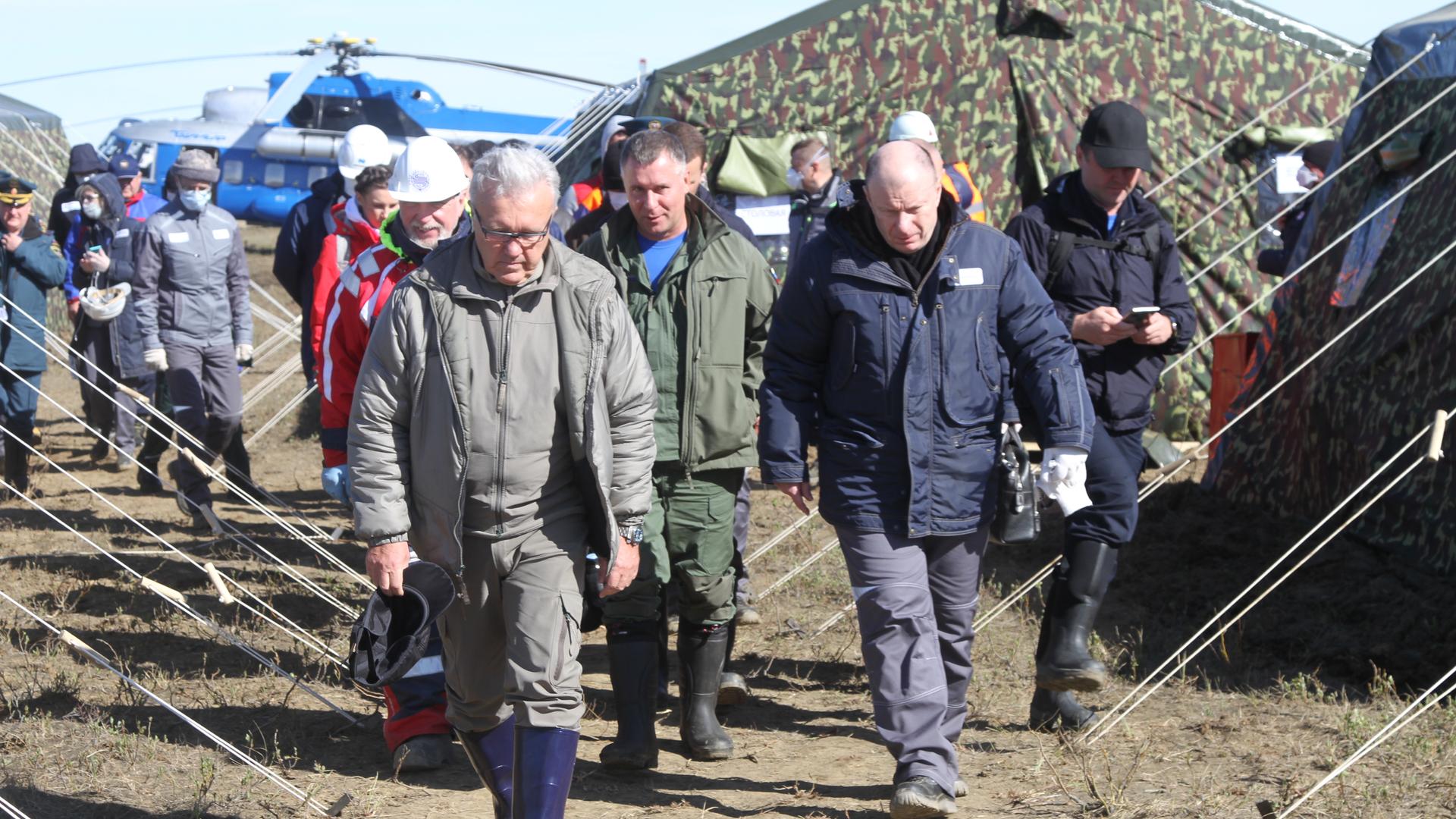 Владимир Потанин принял участие в совещании с главой государства по ликвидации последствий разлива нефтепродуктов