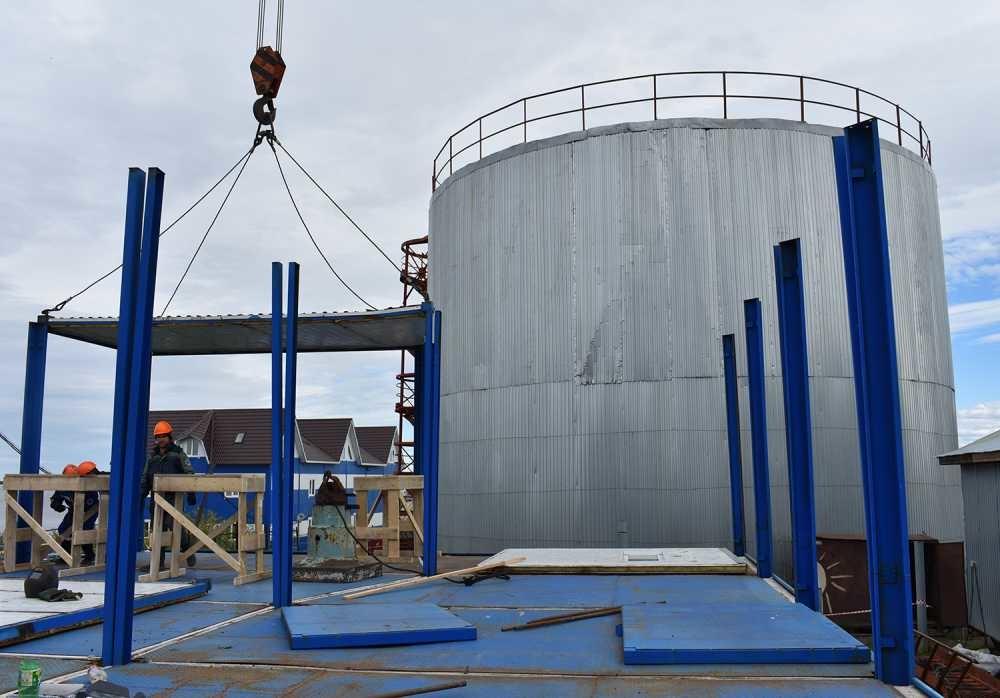 В Хатанге появится станция очистки воды и обеззараживания холодной воды