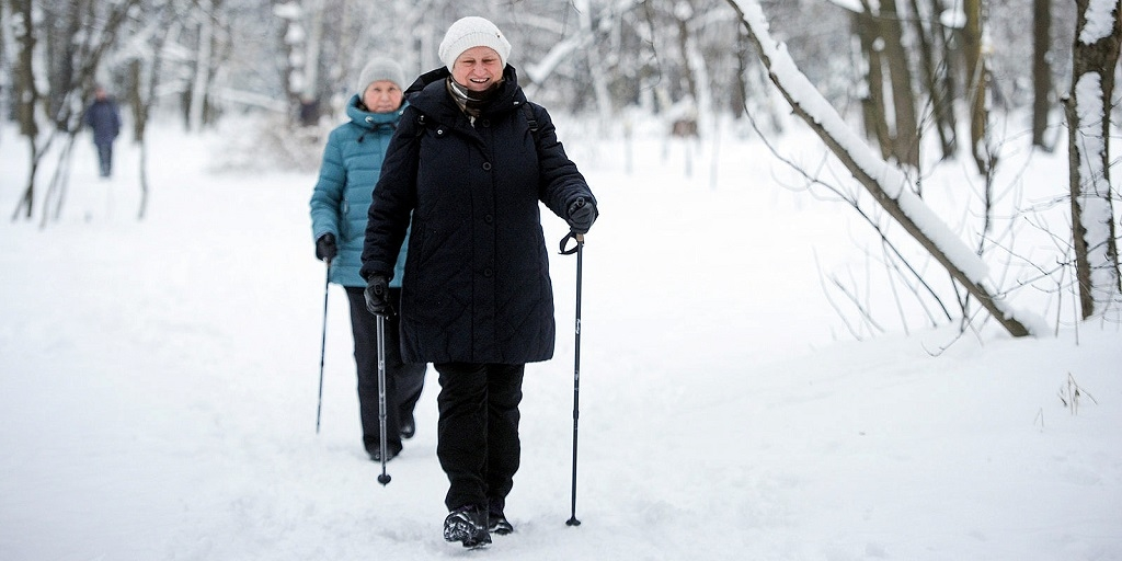 На лыжной базе «Оль-Гуль» стартует проект «В спорте только бабушки!»