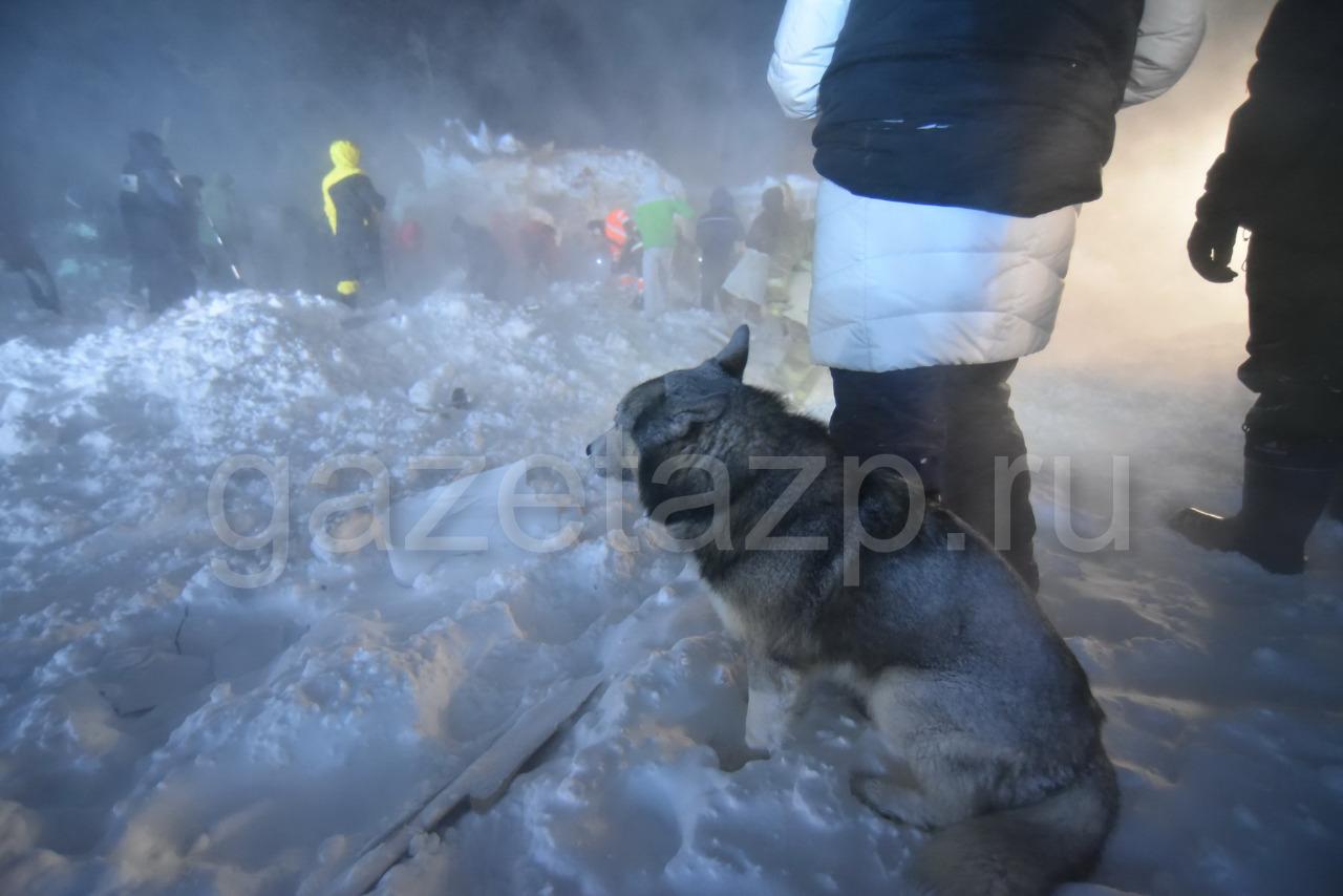 Найдено тело 45-летнего мужчины на горнолыжной базе «Гора Отдельная», где сегодня ночью сошла лавина