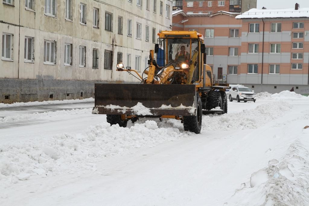 Больше полусотни единиц техники будет занято на снегоуборке городских улиц