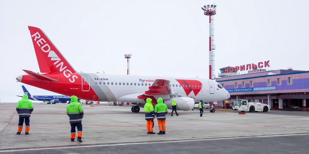В октябре начнутся прямые перелёты из Норильска в Барнаул