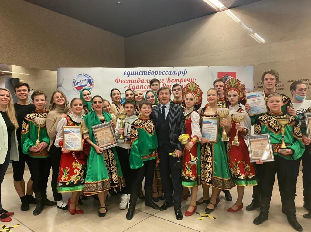 Ансамбль «Оганер» получил Гран-при Международного конкурса-фестиваля творческих коллективов «Наследие времён»