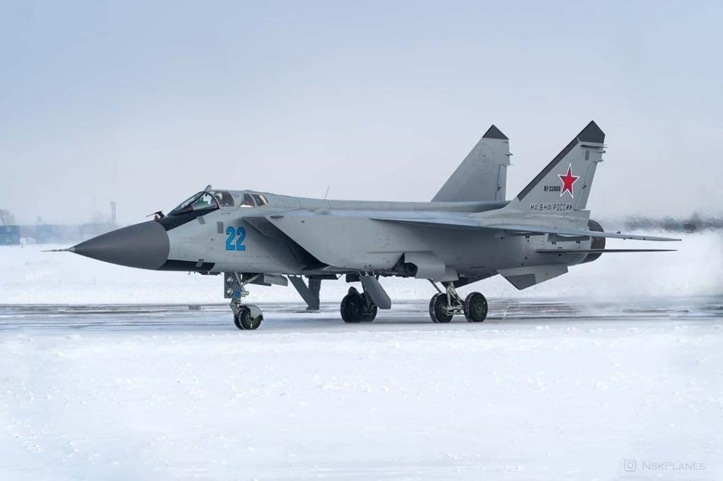 Истребители МиГ–31БМ заступили на боевое дежурство на архипелаге Новая Земля