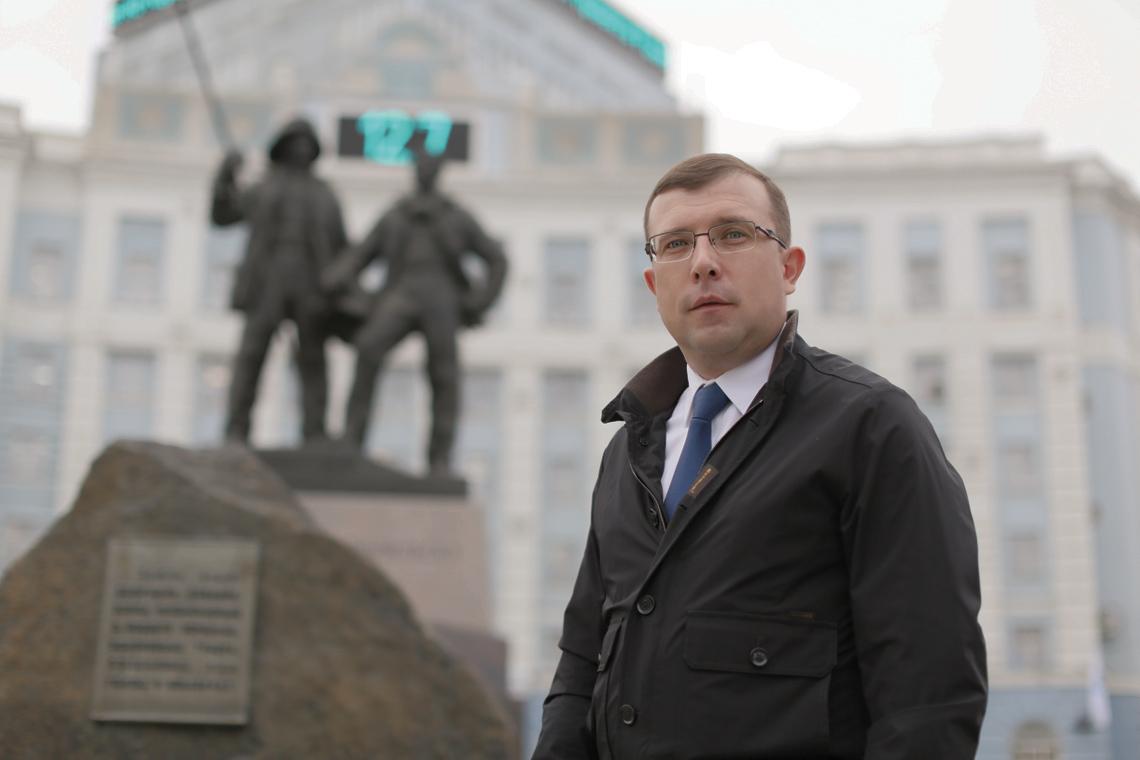 Александр Пестряков поздравил норильчан с Днём города и Днём металлурга