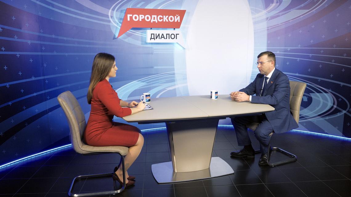 Александр Пестряков об итогах 2020 года на телеканале Норильск ТВ