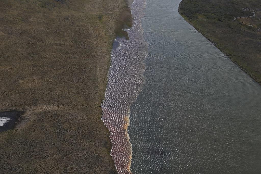 Инспекторы краевого министерства экологии возобновили мониторинг состояния водных объектов Большого Норильска