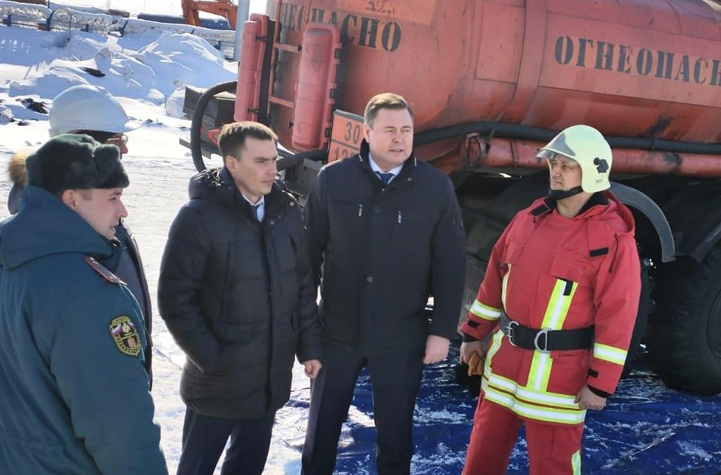 В Норильске началась транспортировка нефтепродуктов из временных резервуаров к постоянному месту хранения на ХАДТ ТЭЦ-3