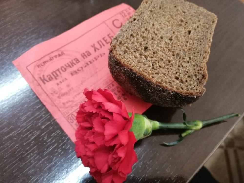 Детский сад «Снегирек» почтил память ленинградцев–блокадников