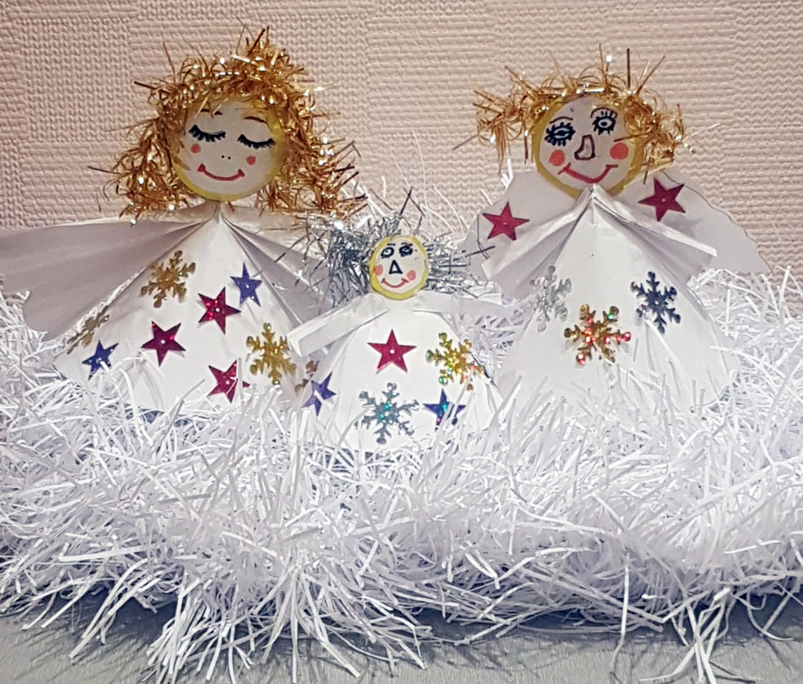 Ребята из воскресных школ готовятся к светлому празднику Рождества Христова