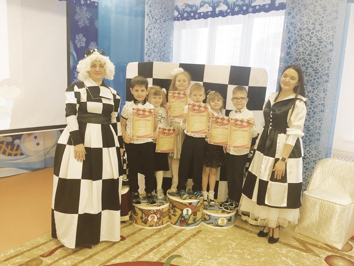 В «Брусничке» состоялся шашечный турнир
