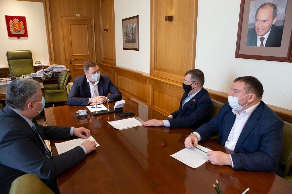 Спикер краевого Законодательного собрания обсудил с депутатами Норильского горсовета актуальные для горожан вопросы