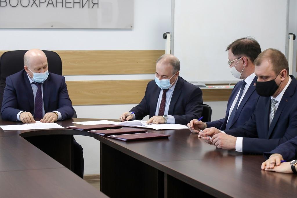 В краевом правительстве подписано трёхстороннее соглашение о взаимодействии по подготовке медицинских кадров