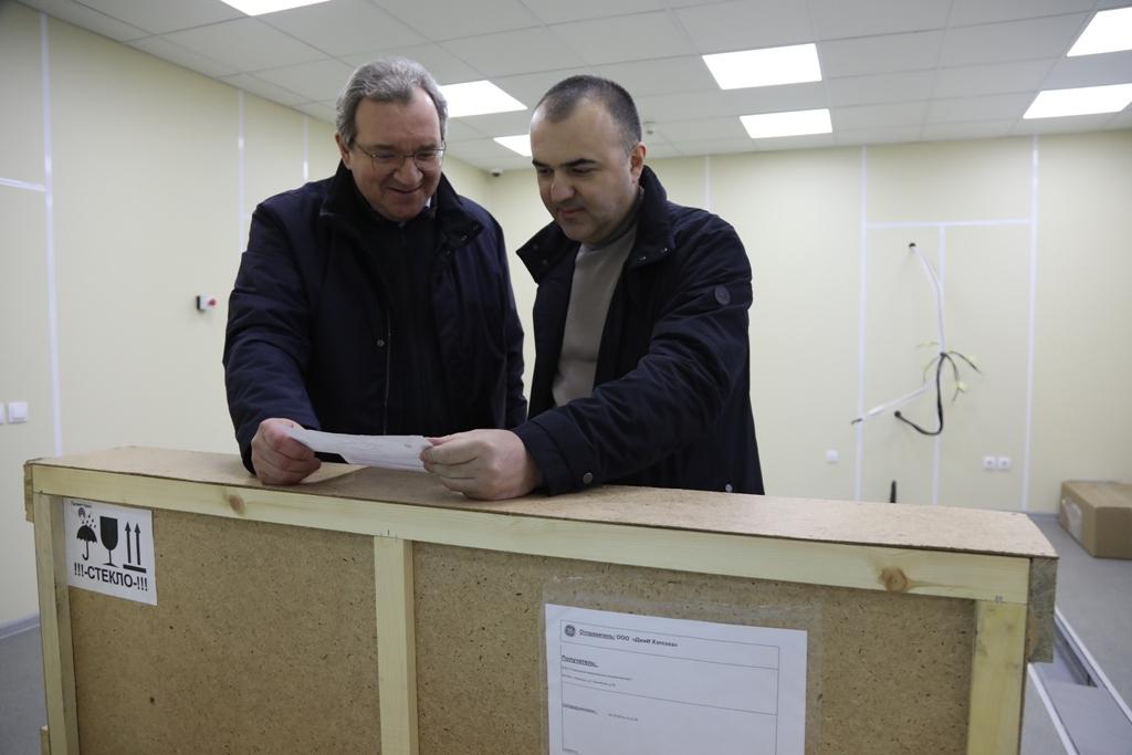 В поликлинике № 1 появился современный компьютерный томограф
