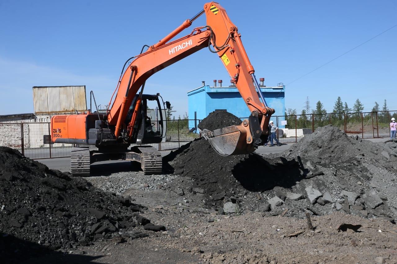На Игарской в районе школы № 39 будет заужена дорога - в связи с проведением работ на магистральном коллекторе