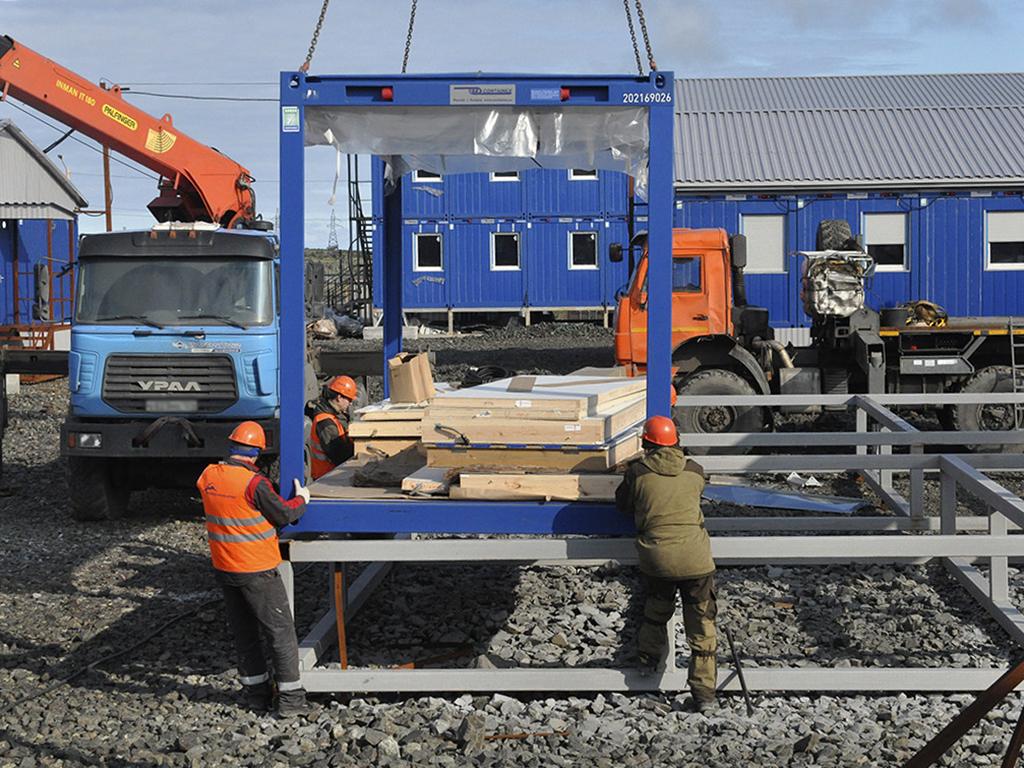 «Норникель» приступил ко второму этапу строительства жилого комплекса для строителей «Серной программы»