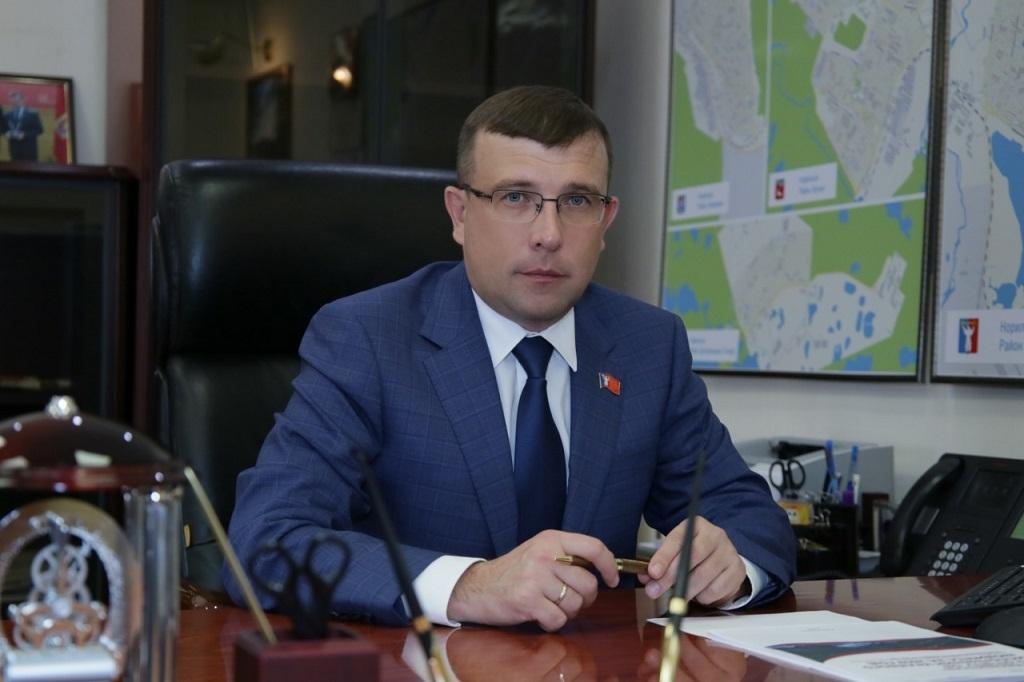 Поздравление председателя городского Совета депутатов с Днём местного самоуправления