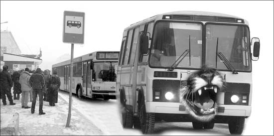 Плач по муниципальному транспорту...