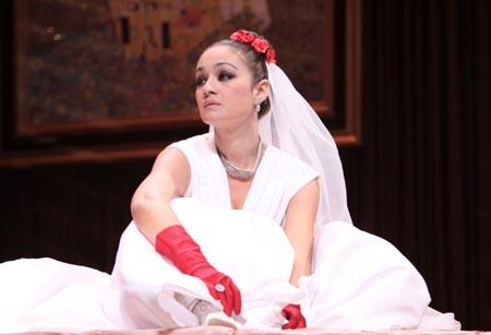 А вот идет невеста