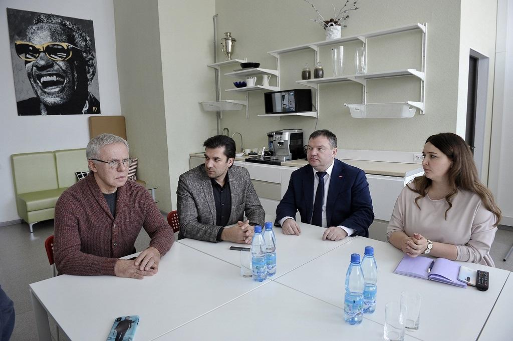 Вячеслав Фетисов посетил Агентство развития Норильска