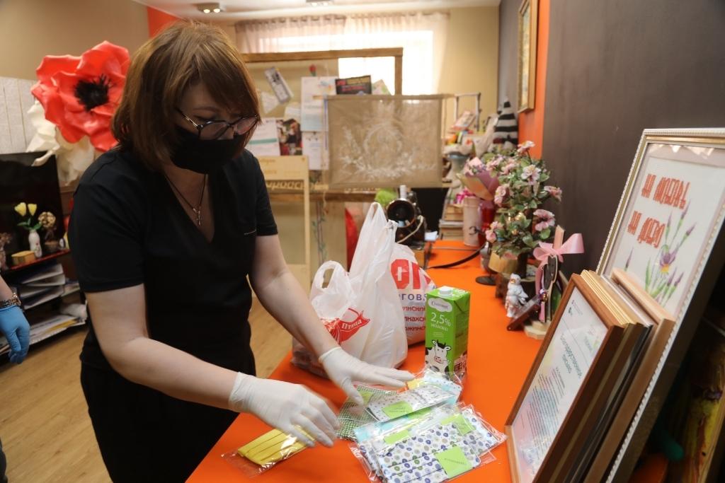 Волонтёры акции #МыВместе возобновили доставку продуктов первой необходимости