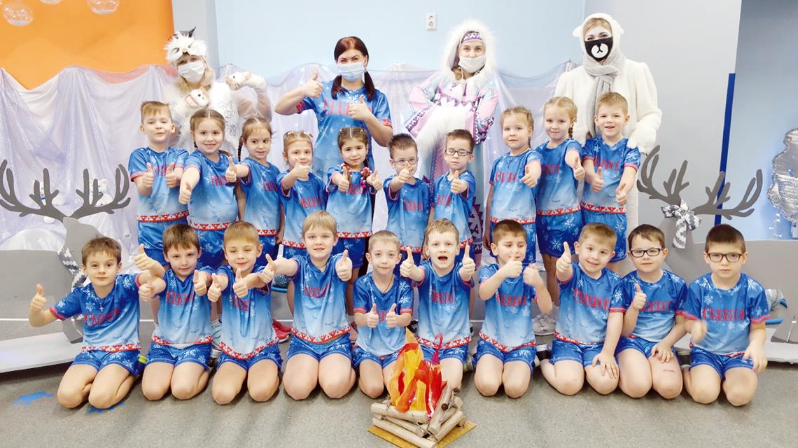 В детском садике «Северок» устроили проводы полярной ночи