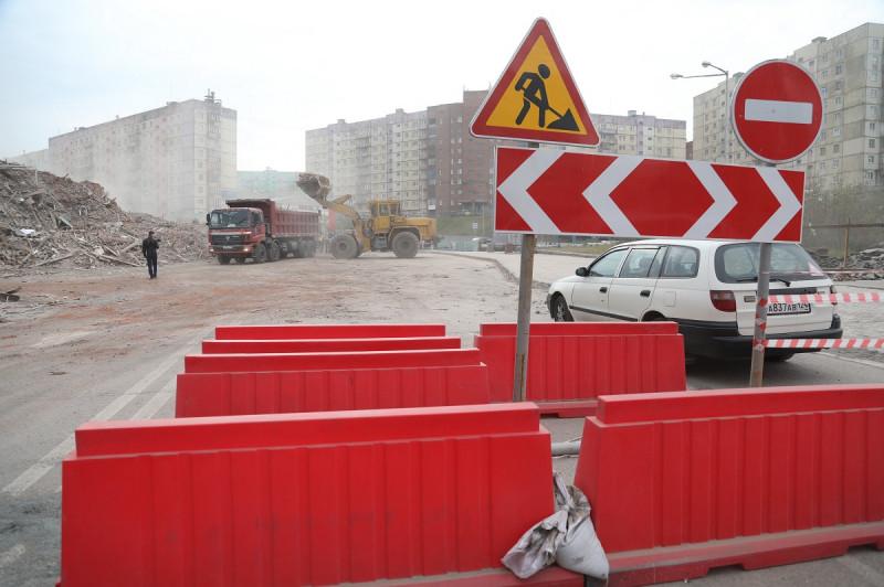 Дорожное движение на Комсомольской