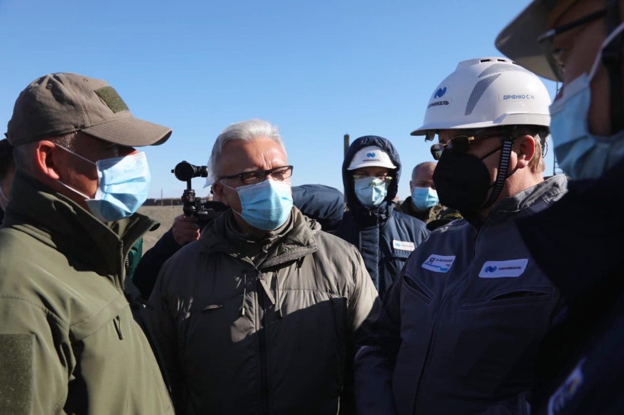 Губернатор края находится в Норильске с рабочим визитом
