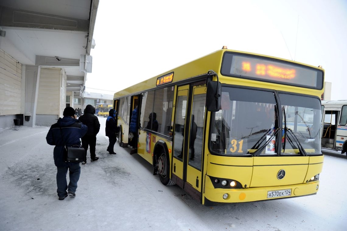 На кайерканской дороге возобновилось движение автобусов