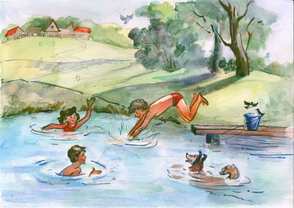 Норильских дошколят приглашают к участию в конкурсе детского рисунка «Безопасность на воде»