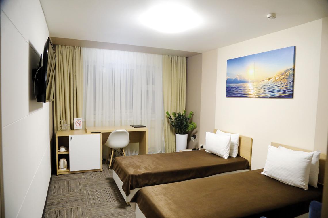 В гостинице «Норильск» полным ходом идёт третий этап капитального ремонта номерного фонда