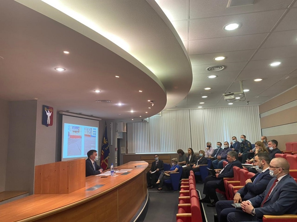 В Норильске прошло внеплановое заседание КЧС под председательством главы города