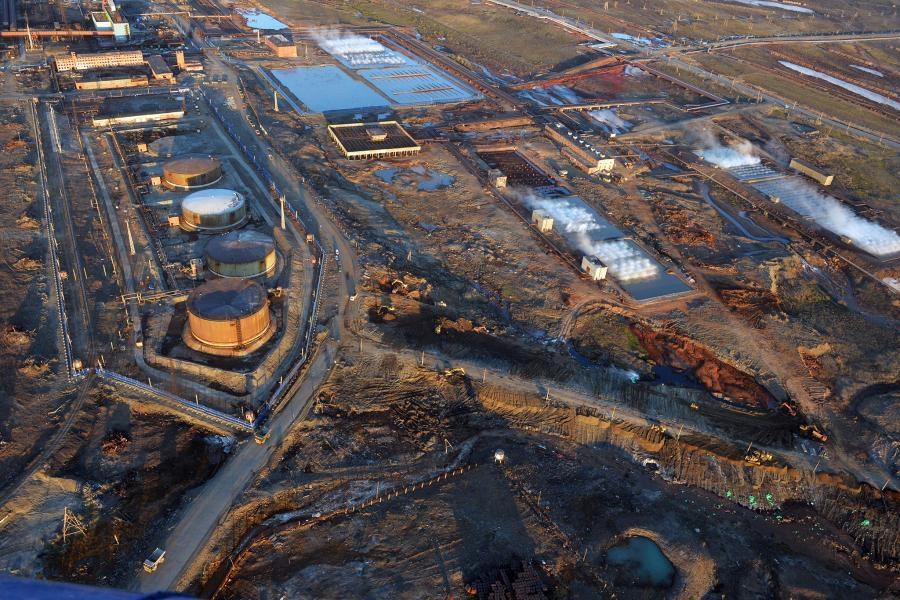 Росприроднадзор оценил ущерб экологии от разлива топлива на ТЭЦ-3 в 148 млрд рублей
