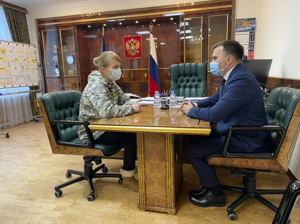 Норильск с рабочим визитом посетила заместитель краевого министра экологии и рационального природопользования