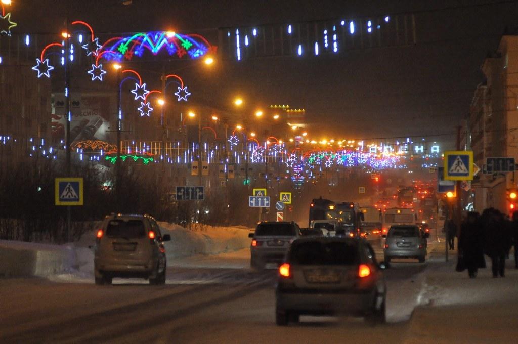 Сегодня в Норильске началась полярная ночь