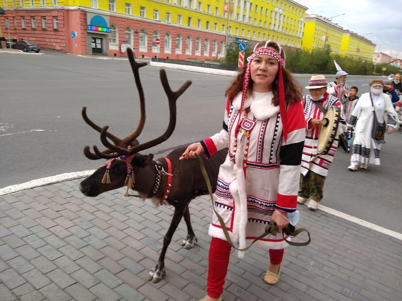 Община нганасан «Ня танса» отметила в Норильске Международный день коренных