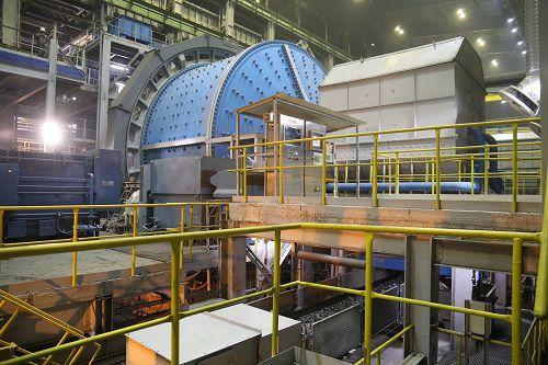 Модернизация Талнахской обогатительной фабрики завершена.