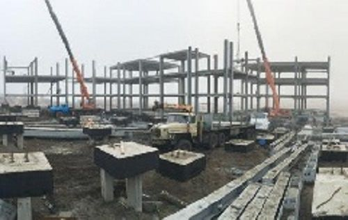 Для детей носковской тундры строится новый спальный корпус интерната. На Таймыре продолжается строительство жилья и социальных объектов.