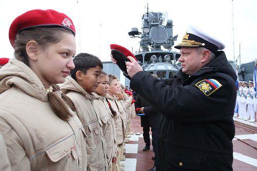В Норильске пройдет торжественная церемония посвящения молодежи в юнармейцы.