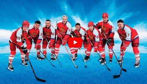 Смотрите в прямом эфире. Сегодня в Норильске на лед выйдет команда «Легенды хоккея».